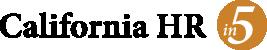 California HR in 5