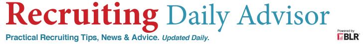 Recruiting Daily Advisor Newsletter