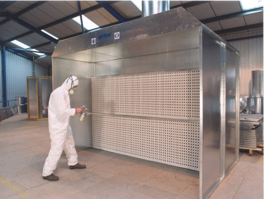 Spray Booths: This Employer Didn't Quite Finish Its Spray