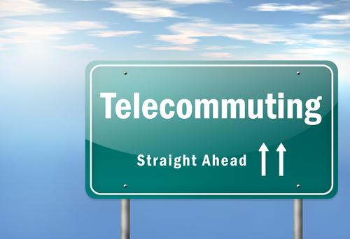 telecomute