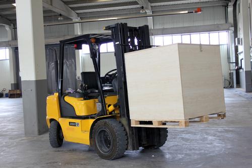 Unattended Forklift